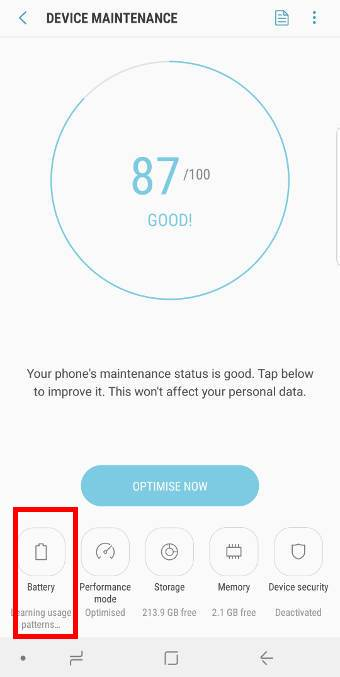 disable fast charging and fast wireless charging for Galaxy S9 and S9+
