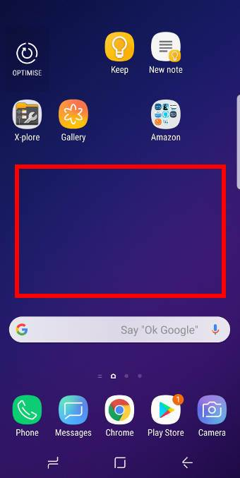 useGalaxy S9 Home screen edit mode to customize Galaxy S9 Home screen