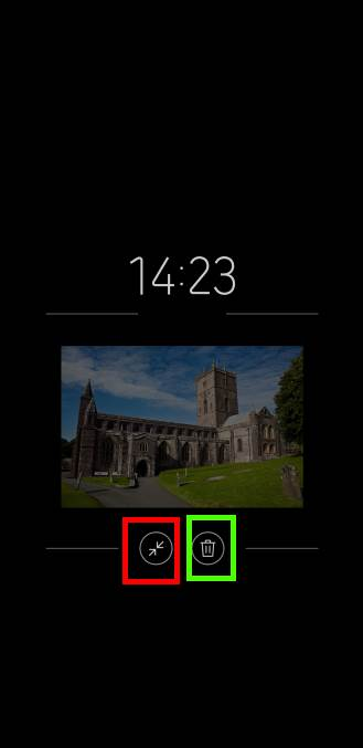 pin pictures to Galaxy S9 always-on display (AOD) on Galaxy S9 and S9+