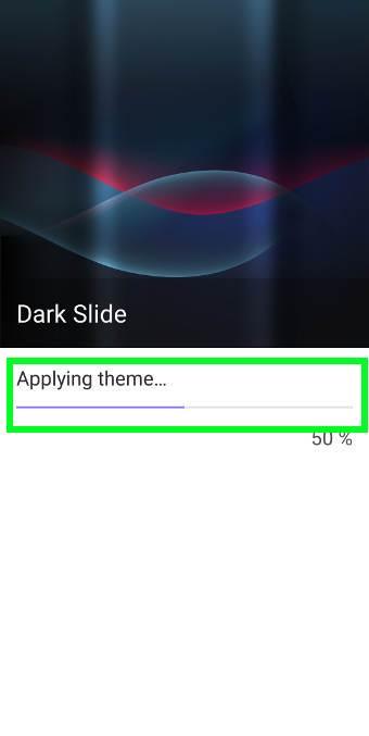 install new Galaxy S9 themes