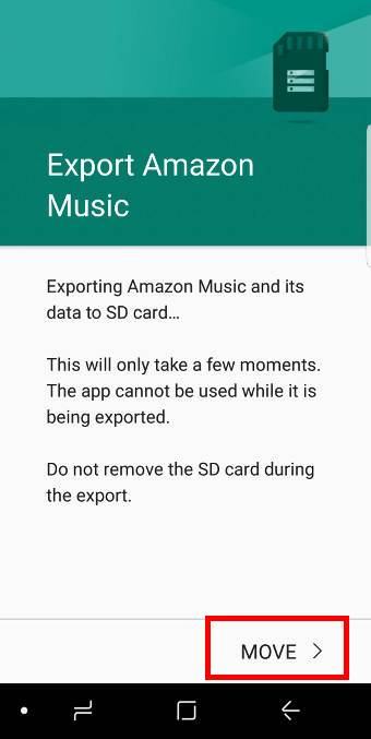 move apps to SD card on Galaxy S9 and S9+