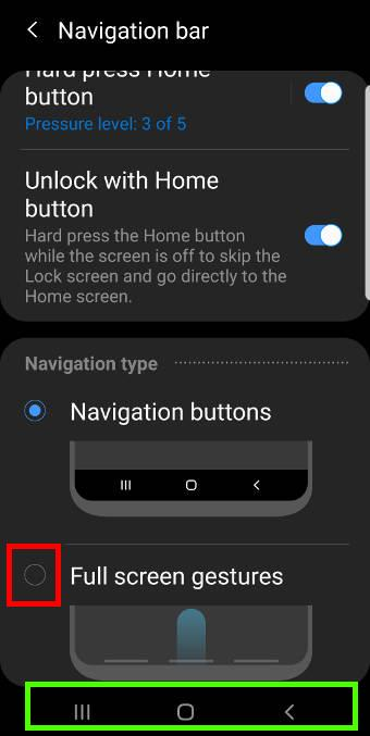 enable anddisablethe newnavigation gestures in Android Pieupdate for Galaxy S9 and S9+