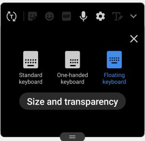 how to enable, use, and customize thefloating keyboard on Galaxy S9 and S9+ with Android Pie update