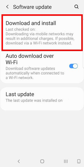 update Galaxy S9 or S9 Plus to Android Pie (Android 9)