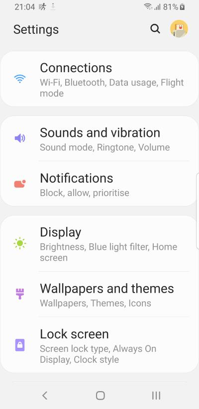 screen  orientation changes